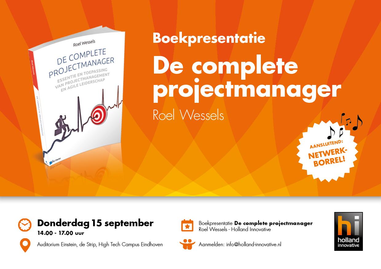 Uitnodiging Boekpresentatie De Complete Projectmanager