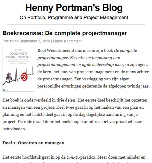 de-complete-projectmanager-roel-wessels-recensie-henny-portman