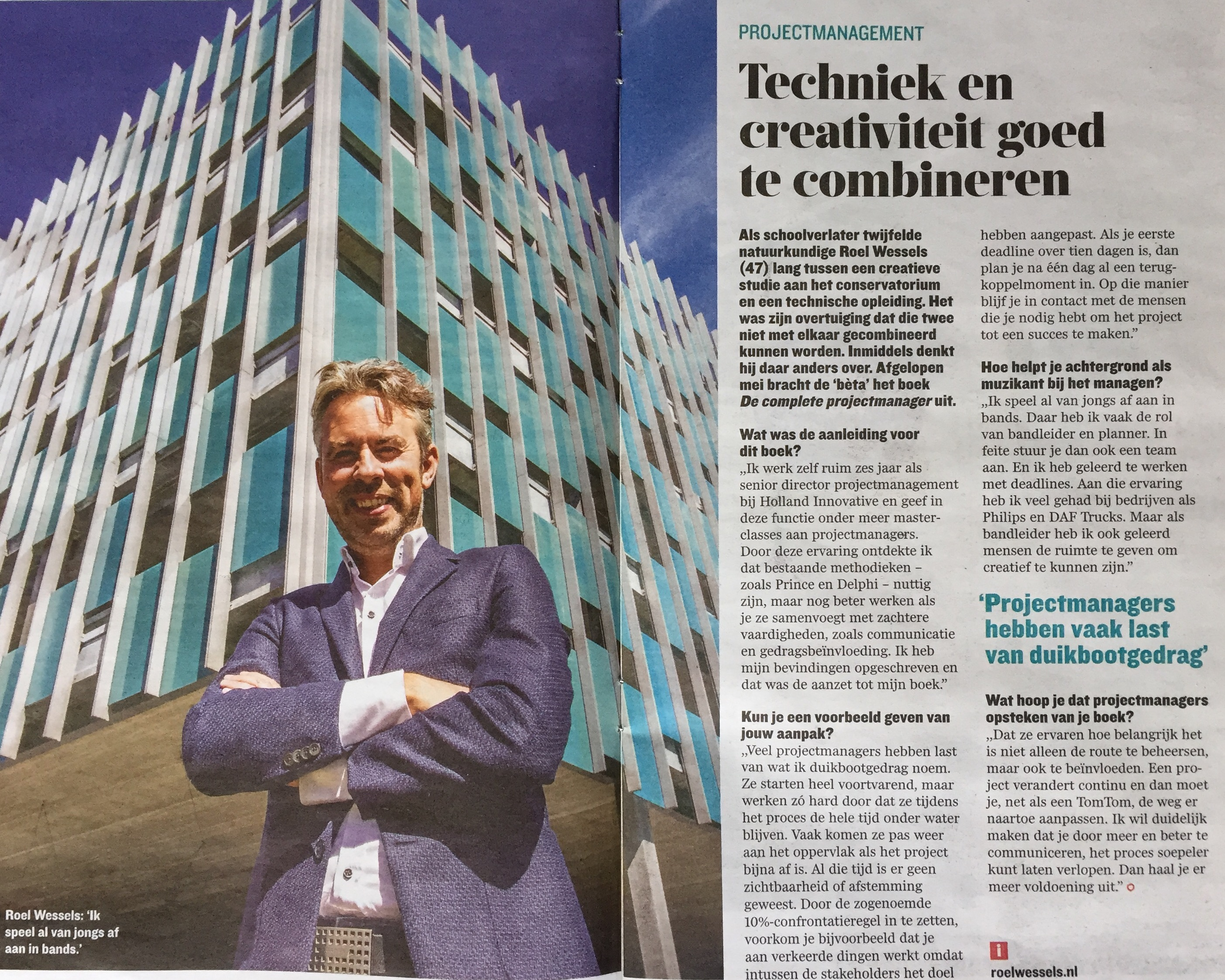 deondernemer-cover-roel-wessels-de-complete-projectmanager-interview